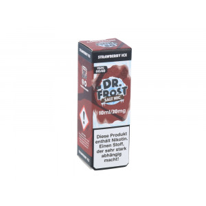 Dr. Frost - Polar Ice Vapes - Strawberry Ice - Nikotinsalz Liquid - 20mg/ml