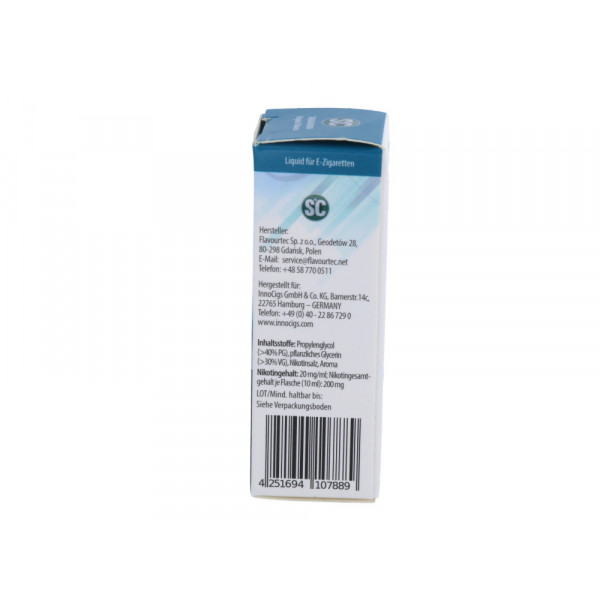 SC - Virginia Tobacco - E-Zigaretten Nikotinsalz Liquid - 20 mg/ml