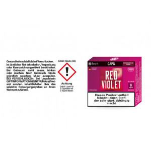 SC Easy 4 Caps Red Violet Amarenakirsche 9 mg/ml (2...