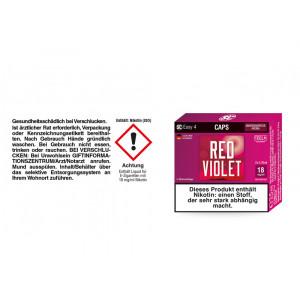 SC Easy 4 Caps Red Violet Amarenakirsche 18 mg/ml (2...
