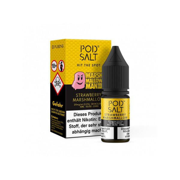 Pod Salt Fusion - Marshmallow Man 3 - E-Zigaretten Nikotinsalz Liquid