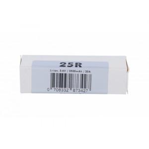 Samsung INR18650-25R 2500 mAh Akku (20A)