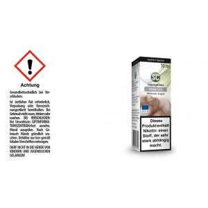 SC Liquid - Strong Taste Tabak - 6 mg/ml (10er Packung)