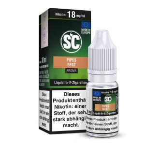 SC Liquid - Pipes Best Tabak - 12 mg/ml (10er Packung)