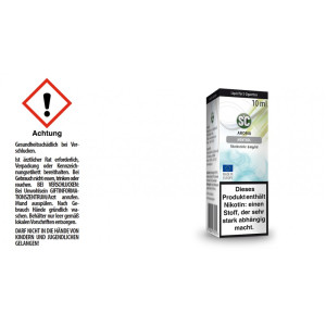 SC Liquid - Menthol - 6 mg/ml (10er Packung)