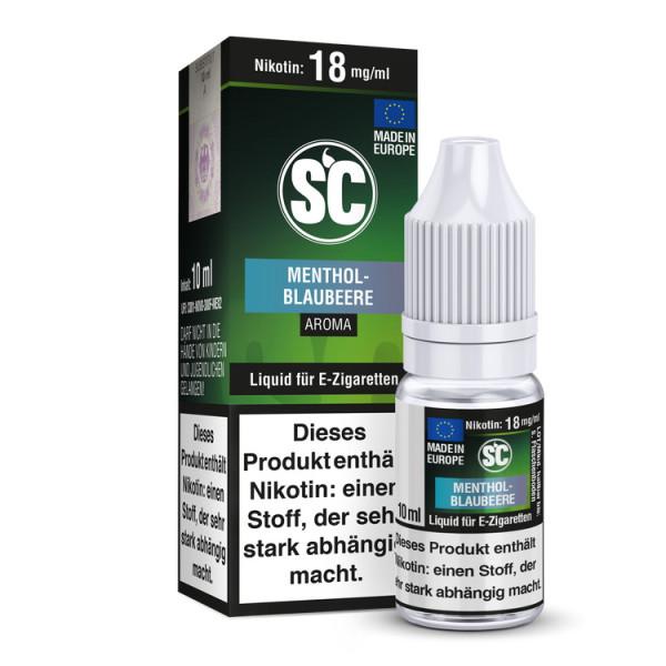 SC Liquid - Menthol - Blaubeere
