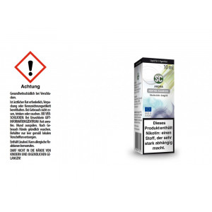 SC Liquid - Menthol - Blaubeere - 6 mg/ml (1er Packung)