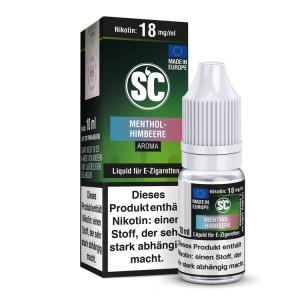 SC Liquid - Menthol - Himbeere - 12 mg/ml (10er Packung)