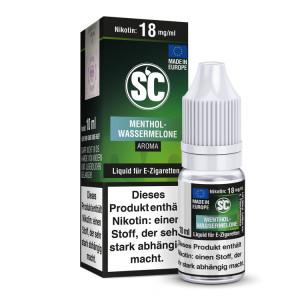 SC Liquid - Menthol - Wassermelone - 12 mg/ml (1er Packung)