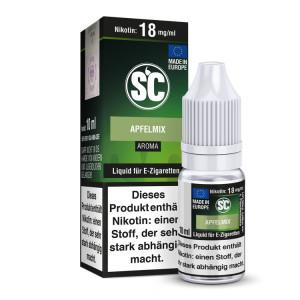 SC Liquid - Apfelmix - 0 mg/ml (1er Packung)