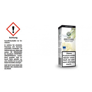 SC Liquid - Vanille - 6 mg/ml (10er Packung)