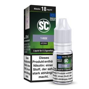SC Liquid - T-Ride - 12 mg/ml (10er Packung)