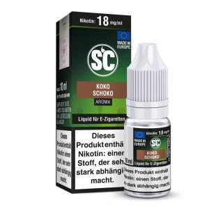 SC Liquid - Kokos Schokolade - 6 mg/ml (1er Packung)