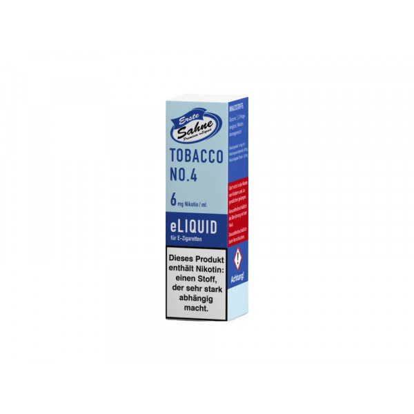 Erste Sahne Liquid - Tobacco No. 4