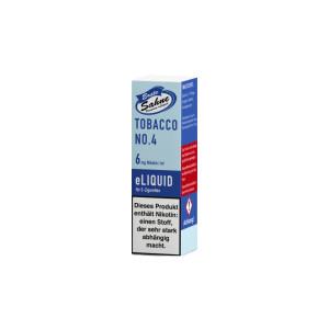 Erste Sahne Liquid - Tobacco No. 4 - 6 mg/ml (1er Packung)