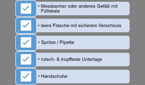 Erforderliche Werkzeuge & Zubehör für die Herstellung von Liquids